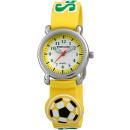 Großhandel Armbanduhren: Excellanc Kinderuhr mit Silikonarmband