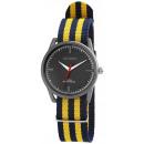 Großhandel Schmuck & Uhren: Akzent Unisexuhr mit Textilarmband