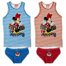 Minnie MOUSE & Daisy GIRLS UNDERWEAR SET