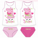PEPPA PIG ( Peppa Pig ) GIRLS 'UNDERWEAR SET