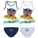PSI PATROL ( Paw  Patrol ) SET DESSOUS BOY