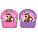 MASHA AND THE BEAR GIRLS CAP WITH A GIFT MA