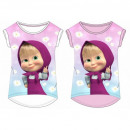 wholesale Licensed Products: MASHA AND THE BEAR T-Shirt SHIRT GIRL MAB 52 02 04