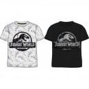 Großhandel Fashion & Accessoires: JURASSIC WORLD T-Shirt CHLOPIECY JW 52 02 001/002