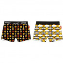 wholesale Lingerie & Underwear: EMOJI BOXER MESKIE EM 53 33 104