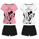 Mickey MOUSE & FRIENDS PIZAMA WOMEN DIS MFB 53