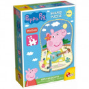 Peppa Puzzle Puzzle Peppa Pig Shape - Peppa town