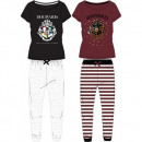 grossiste Pyjamas et Chemises de nuit: HARRY POTTER FEMME PIZAMA HP 53 04 040/041