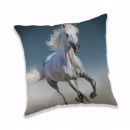Photoprints Sweet home White horse Pillow