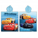 grossiste Pulls et Sweats:Cars Poncho Cars Blue 02