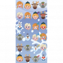 frozen Frozen Emoji beach towel