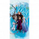 frozen Frozen 2 Blue beach towel