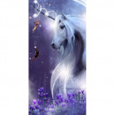 Photoprints Sweet home Unicorn 02 beach towel