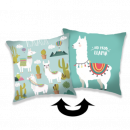 Photoprints Sweet home Llama 01 Pillow cover wit
