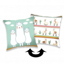 Photoprints Sweet home Llama 02 Pillow cover wit