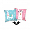wholesale Cushions & Blankets: Photoprints Sweet home Llama 03 Pillow cover wit