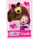 MASHA AND THE BEAR Masha and The Bear Friends blan