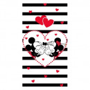 Mickey and MinnieMickey and Minnie Stripes towel