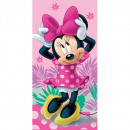 Minnie Minnie Pink 02 beach towel