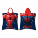Spiderman MAN Spiderman poncho azul