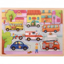Puzzle DisneyCars Puzzle TOP BRIGHT Wood Puzzle