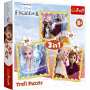 Puzzle Disneyfrozen 3in1 puzzles Frozen 2, Power
