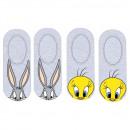 Großhandel Strümpfe & Socken: Looney Tunes FUSS DER FRAUEN WB 53 34 536