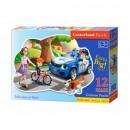 wholesale Puzzle: Puzzle of 12 elements Maxi - Policeman