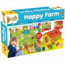 Carotina Baby Puzzle Puzzle Happy farm