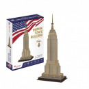 wholesale Shipping Material & Accessories: 3D Puzzle Empire State Building 54 elements