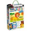 Children's puzzles and flashcards