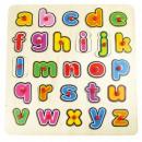 Großhandel Holzspielzeug: Puzzle TOP BRIGHT Holzpuzzles Kleinbuchstaben