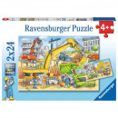 wholesale Other: 2x24 puzzles. Work on construction site