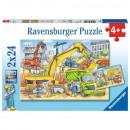 wholesale Toys: 2x24 puzzles. Work on construction site