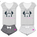 Minnie MOUSE & Daisy WOMEN'S PIZAMA DIS MF