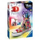Puzzle Trolls Puzzle 108 pieces 3D Sneaker Trol