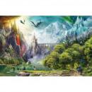 Puzzle di 3000 pezzi Dragon Territory