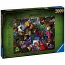 Puzzle 2000 pezzi Disney Cattivi