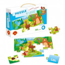 groothandel Ontdekken & ontwikkeling: Puzzel in het bos, Sowka Madra Glowka