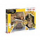 wholesale Toys: Puzzle 104 pieces NATIONAL GEOGRAPHIC KIDS Wild
