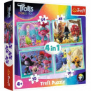 4in1 Puzzle Trolls Konzertroute