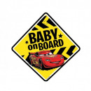 Cars TABLICZKA BABY ON BOARD Cars