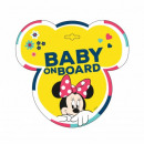 Mickey MOUSE TABLICZKA BABY ON BOARD Minnie