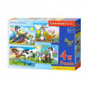 4in1 puzzles Mom and children