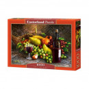 Puzzle 1000 pieces Wine and fruit