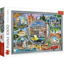 1000 pieces puzzle - Italian holiday