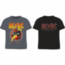 Großhandel Shirts & Tops: AC DC T-Shirt MÄNNLICH ACDC 53 02 004/005