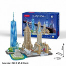 3D City Line Puzzle New York