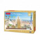 wholesale Models & Vehicles: 3D City Line Barcelona Puzzle