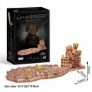 3D Puzzle Game of Thrones